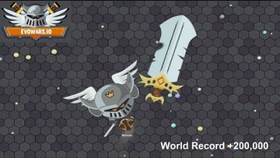 EvoWars.io Evolutions Unlocked 25/25 World Record +200,000