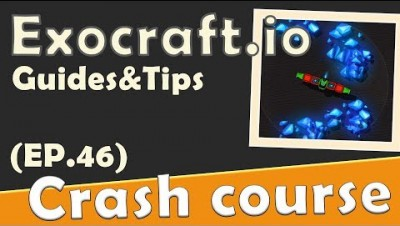 Exocraft.io in 90 seconds! ( Tip & Tricks included ) | #Random.io Crash Course 46 | Exocraftio