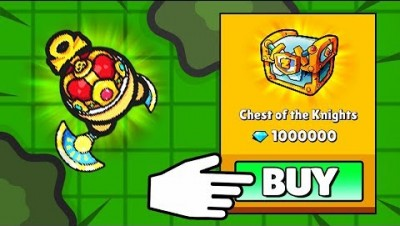 EXPENSIVE CHEST OF KNIGHTS OPENING!.. // ZombsRoyale.io