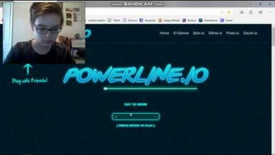 Facecam! - powerline.io Gameplay #11