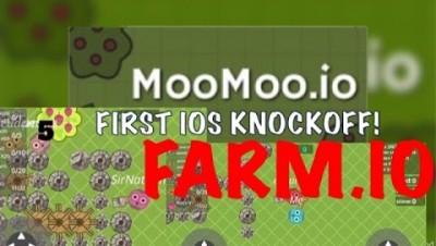 FARM.IO: First iOS Moomoo.io Knockoff!