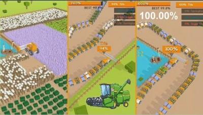 Farmers.io Map Control: 100.00% World Record