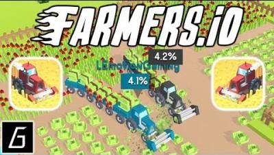 Farmers io. Новая Ио Игра. Фермер ио.