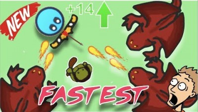 FASTEST way to the HIGHEST LEVEL!! (Fightz.io)