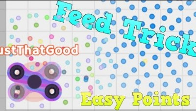 FEED YOURSELF TRICK | EASY POINTS | Spinz.io