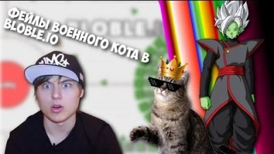ФЕЙЛЫ ВОЕННОГО КОТА | BLOBLE.IO #4
