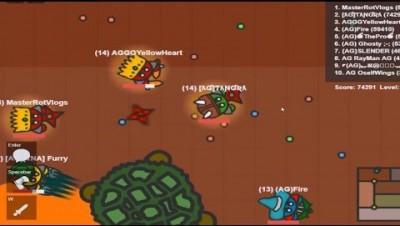 Fightz.io New Update Shuriken And Axe Weapons Lvl 15 Titan Turtle Kills