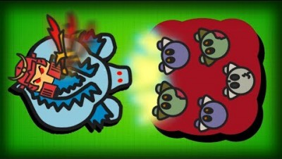 FIGHTZ.IO SAMURAI DESTROYS CRYSTAL DRAGON &  ZOMBIE ARMY!! New Graveyard & Crystal Lair Update!