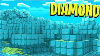 FINDING A DIAMOND ONLY MINECRAFT WORLD *insert the clickbait here*
