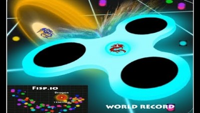 Fisp.io High Score (Spinner.io) 20.000.000 (WORLD RECORD)
