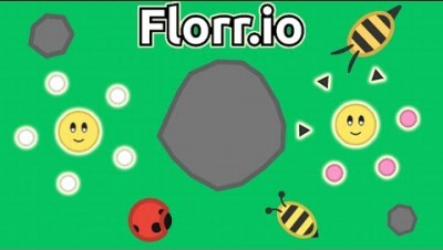 Florr.io - The BRAND NEW .io Game of 2020! (From the Creator of Diep.io)