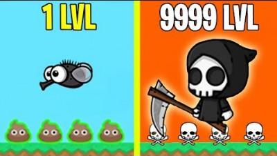 Flyordie.io MAX EVOLUTION BOSS vs ME! FLYORDIE.IO MAX LEVEL ALL ANIMALS (Flyordie.io Gameplay)