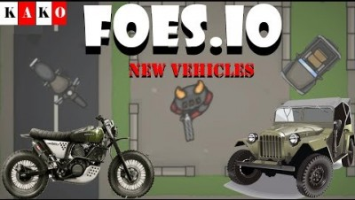 FOES.IO - FOES.IO MOTORCYCLE UPDATE - FOES.IO NEW VEHICLES - FOES.IO NOVA ATUALIZAÇÃO - CHANNEL KAKO