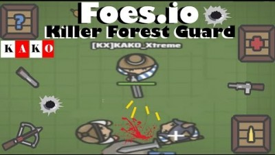 FOES.IO - FOES KILLER FOREST GUARD / Foes.io New .IO / FOES.IO BEST KILLER / FOES.IO GAMEPLAY BR