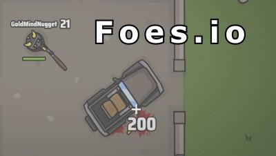 Foes.io | NEW UPDATE | w/ vehicles | 6 winstreak