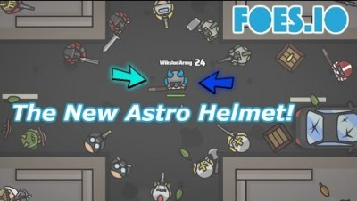 Foes.io The New Astro Helmet! / Win & Combo Compilation! / Cool Moments!