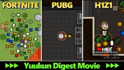 Fortnite PUBG H1Z1 - Yuukun Digest Movie - Surviv.io