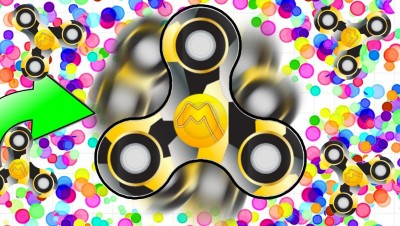 FREE OFFICIAL FIDGETSPINNER SKIN NOW! ! | Slither.io With Fidget Spinners! | Spinz.io Part 7