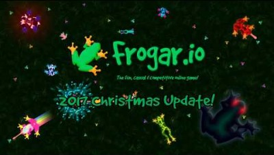 Frogar.io - 2017 Christmas Update! Franta and Farting Frogs!