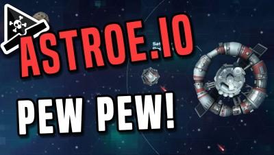 FUN NEW IO GAME! Astroe.io! Teams battle in Astroe.io