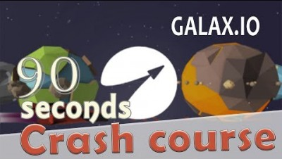 ✔ galax.io in 90 seconds! ( Tip & Tricks included ) | #Random.io Crash Course 34 | galaxio