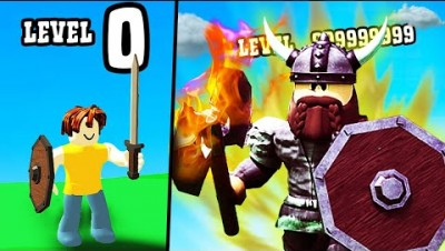 GETTING HIGHEST VIKING LEVEL POSSIBLE? // roblox