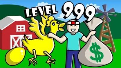 GETTING LEVEL 999 CHICKEN in Egg Simulator // Roblox