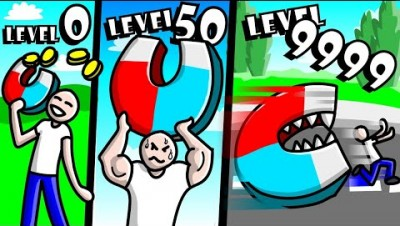 GETTING LEVEL 999 MAGNET in Magnet Simulator! // Roblox