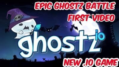 GHOSTZ.IO - First Video & Ghostz Epic Battle & Fast Gameplay