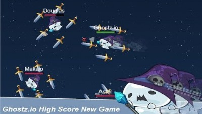 Ghostz.io High Score New .io Game!!?