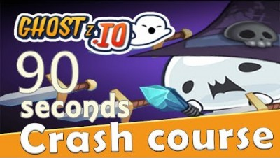 Ghostz.io in 90 seconds! ( Tip & Tricks included ) | #Random.io Crash Course 42 | Ghostzio