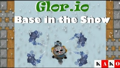 Glor.io - Glor.io Surviving the snow / Glor.io Sobrevivendo na Neve/ Gameplay Glor.io /Game Glor.io