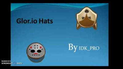 Glor.io Hats [How to get/How to use/How it looks]