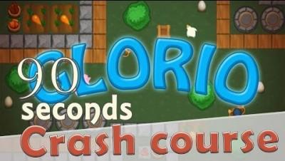 Glor.io in 90 seconds! ( Tip & Tricks included )   #Random.io Crash Course 15   Glorio
