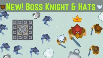 GLOR.IO ► New! Boss Knight, Hats / Raiding Boss Base | RajNoobTV - glor.io game