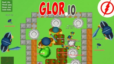 Glor.io - New .io Game!