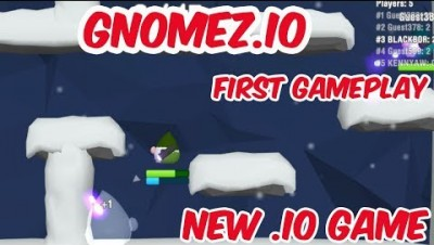 GNOMEZ.IO & First Video & New .IO Game