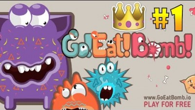 GoEatBomb.io #1 Monster In The Game - Top of Leaderboard - New Pacman