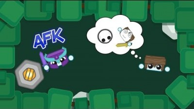 GOING AFK IN FRONT OF RANDOMS? | Starve.io gameplay