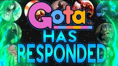 Gota.io HAS Responded!