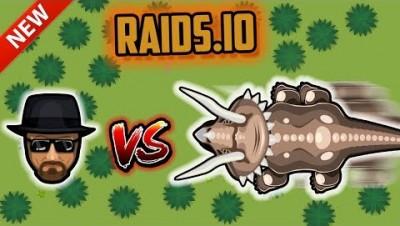 HEISENBERG VS TRICERATOPS!! | Raids.io