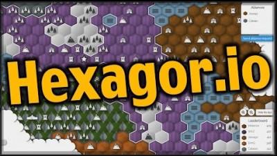 Hexagor.io - Захватываем замки