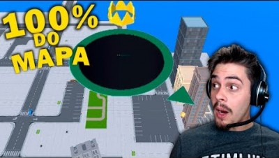 Hole.io - COMI 100% DO MAPA!?  // MEU NOVO RECORDE ‹ AbooT ›