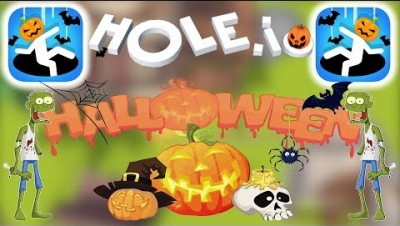 HOLE.IO HALLOWEEN SPECIAL UPDATE NEW SKINS