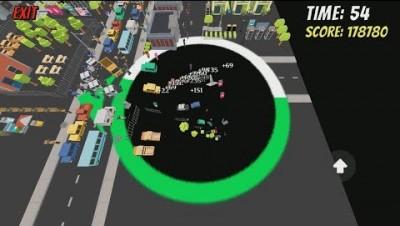Hole.io [Void.io] Map Control: 100.00%