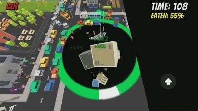 Hole.io [Void.io] Map Control: 100% WORLD RECORD