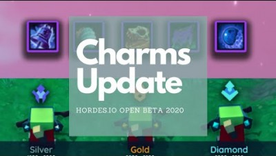 Hordes.io CHARMS UPDATE + MORE