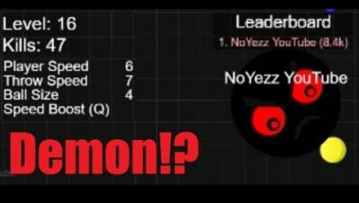 How I became a DEMON. Super High Score 10 K+ Dodgeballs.io