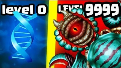 HOW STRONG IS MOST OVERPOWERED CREATURE BOSS EVOLUTION? (9999+ DNA LEVEL) l Sipho.io New .IO Games