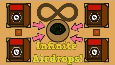 How To Get INFINITE Airdrops In Surviv.io!